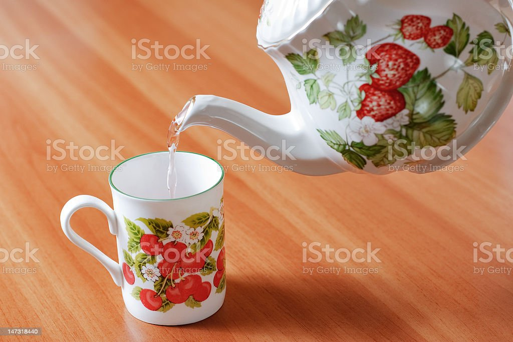 Teacup royalty-free stock photo