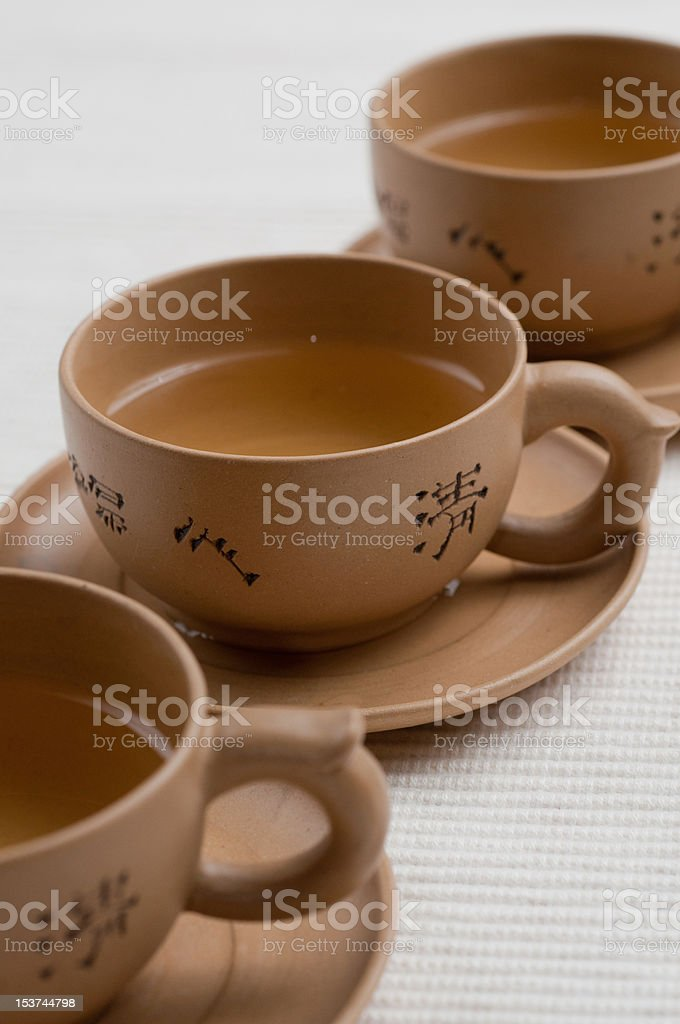 teacups royalty-free stock photo