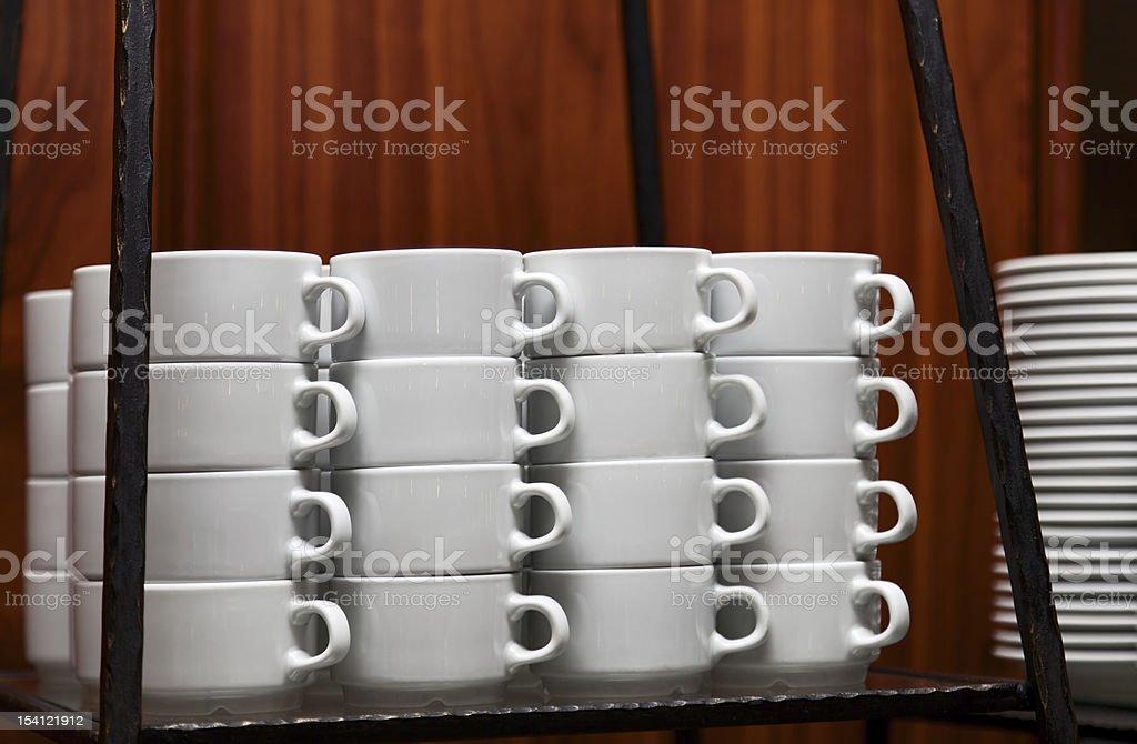Teacups royalty-free stock photo