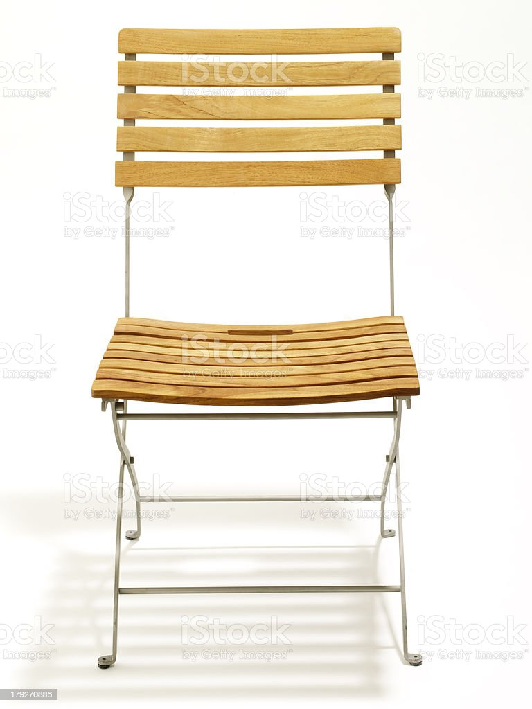 Teak Chair royalty-free stock photo