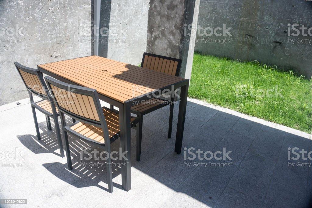 Gartenmobel Aus Teakholz Stuhl Und Tisch Teak Gartenmobel