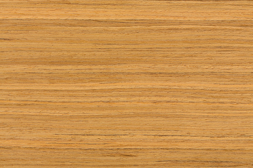 Teak Wood Texture With Natural Patterns Stock Photo