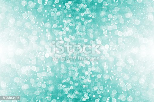 istock Teal and Turquoise Christmas Party Invite Background 825383428