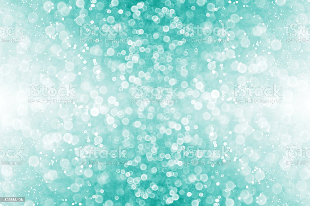 Teal and Turquoise Christmas Party Invite Background stock photo