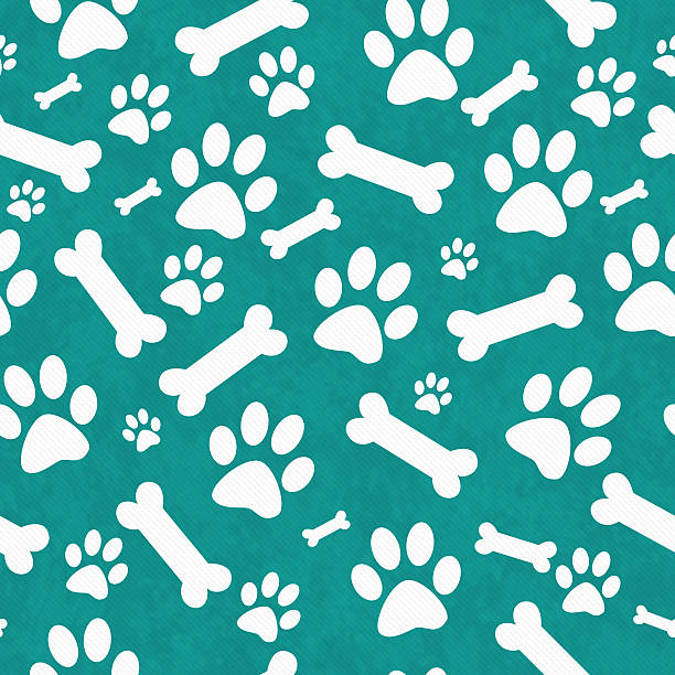 Best paw print stock photos pictures royalty free - Dog print wallpaper ...