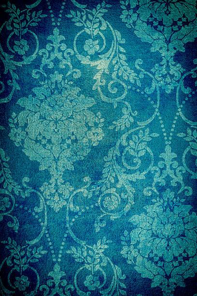 Blaugrün farbigen Hintergrund in Used-Optik – Foto