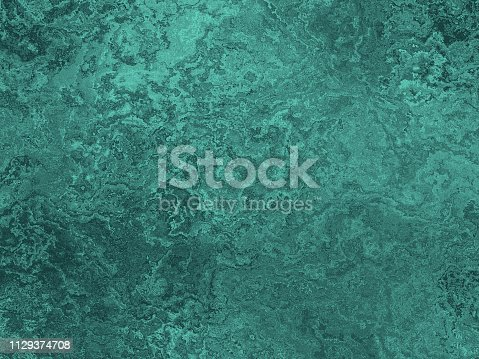 Teal Grunge Ombre Texture Mint Blue Green Pretty Background Holiday Sea Pattern Copy Space