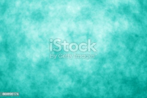 istock Teal Turquoise and Aqua Background Pattern 668895174