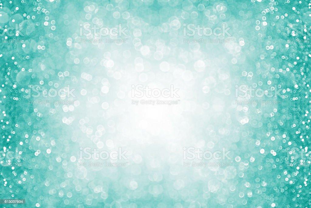Nice Aqua Christmas Lights #1: Teal-turquoise-aqua-glitter-confetti-border-picture-id613037934