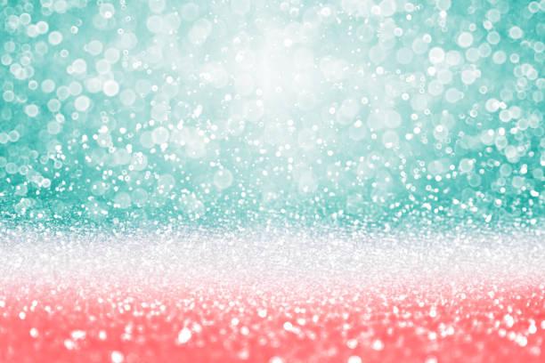 teal turquoise glitter diamond background - pesche bambino foto e immagini stock