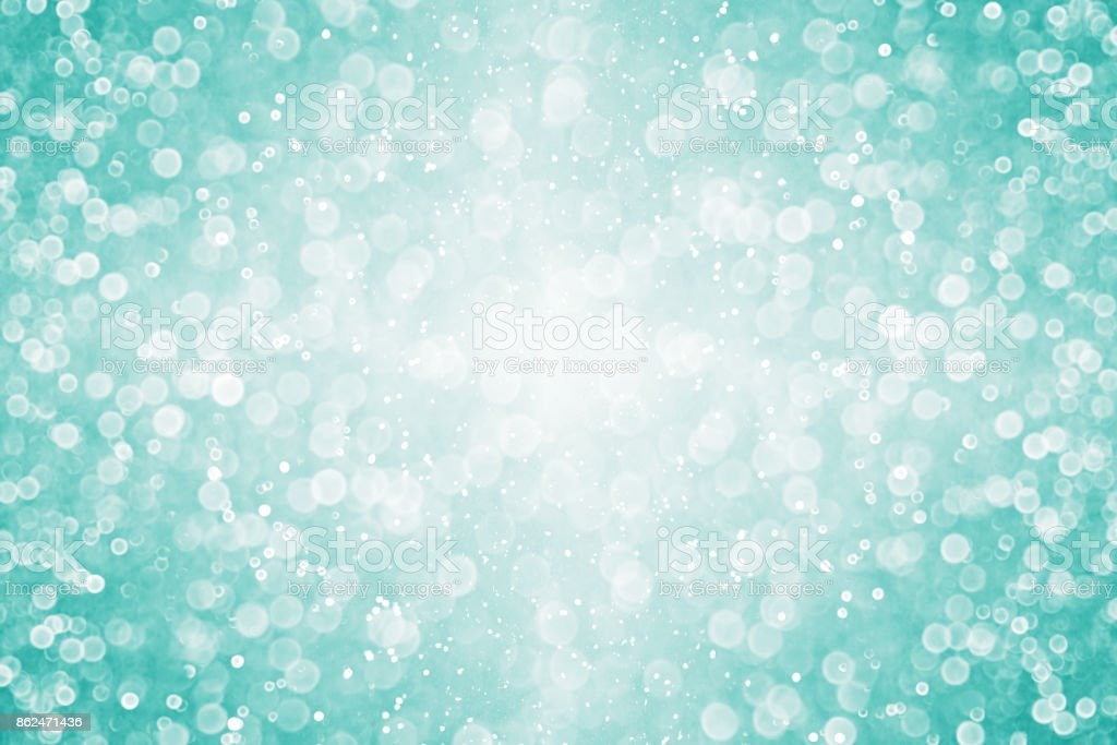 The Texture Of Teal And Turquoise: Teal Turquoise Glitter Sparkle Background Texture Stock