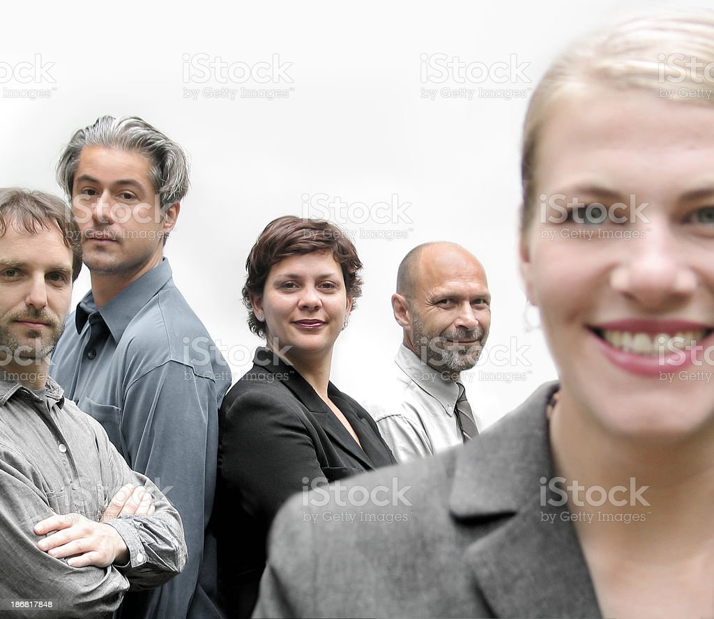 Team 04 royalty-free stock photo