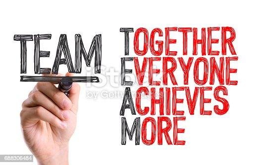 istock Team Acronym 688306484