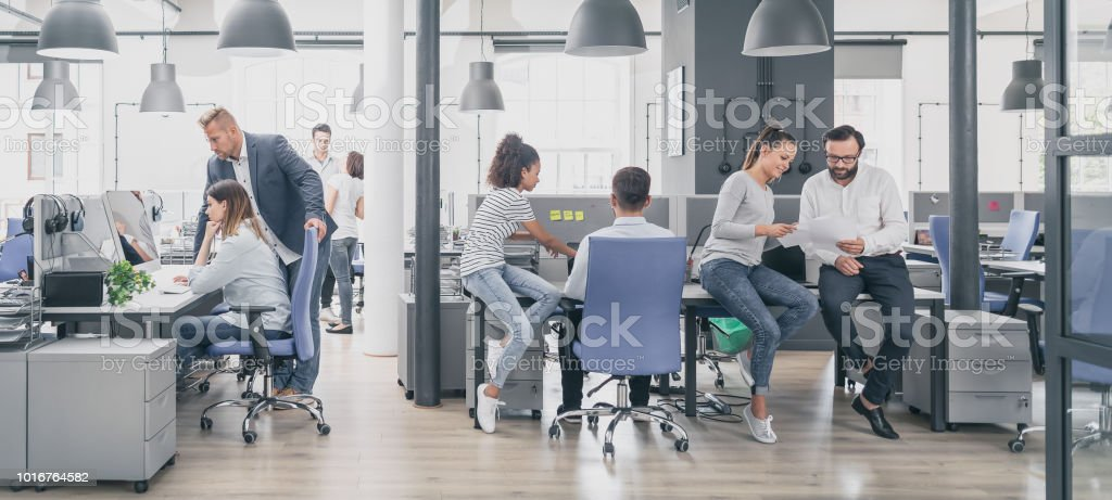 Team at work concept. foto stock royalty-free