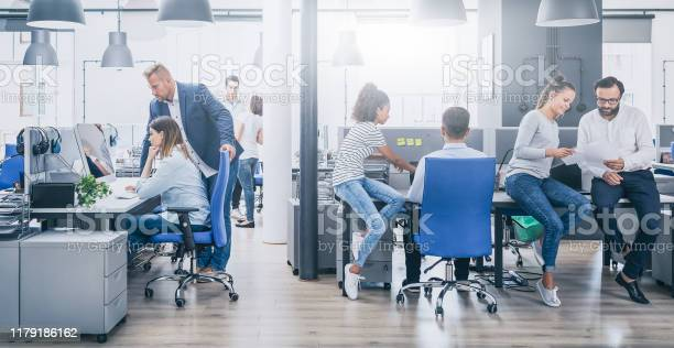 Team At Work Concept Stock Photo - Download Image Now