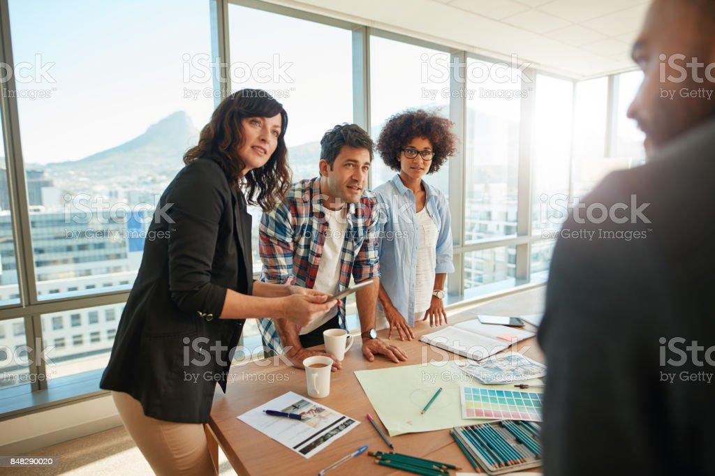 Équipe de réflexion sur les nouvelles conceptions dans le Bureau - Photo
