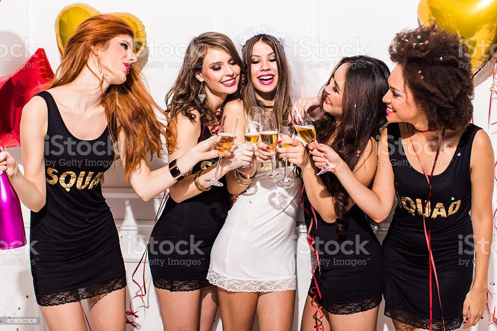 Team BRIDE - foto de stock