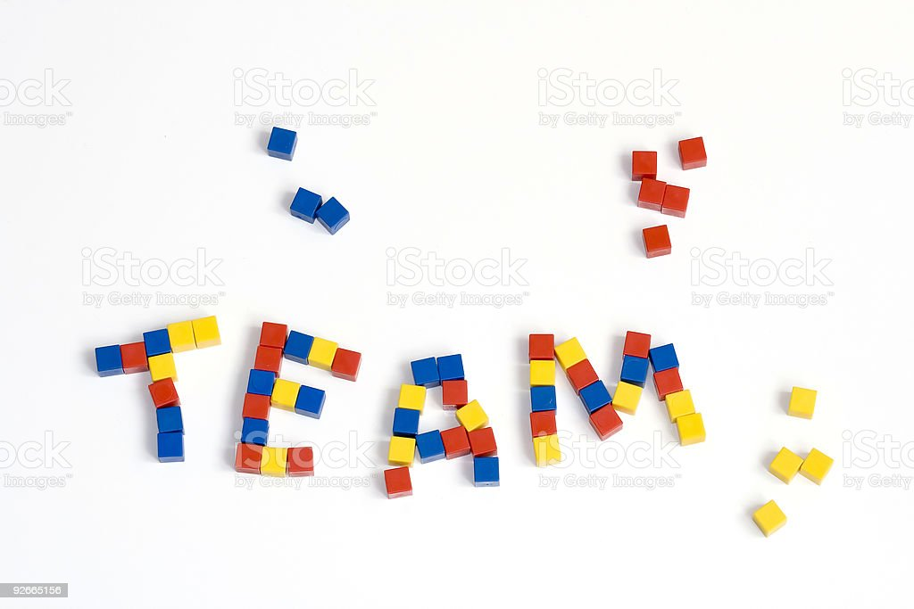 team building concept royalty-free stock photo