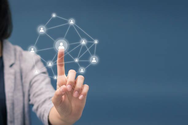 Team building network scheme.