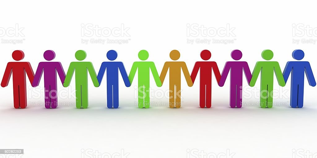 Team Concept royalty-free stock photo