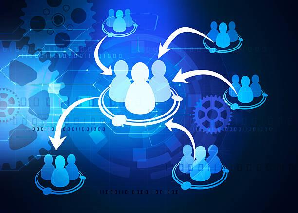 team cooperation diagram – Foto