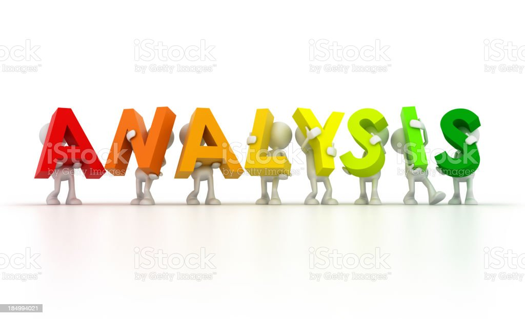 Team forming analysis word royalty-free stock photo
