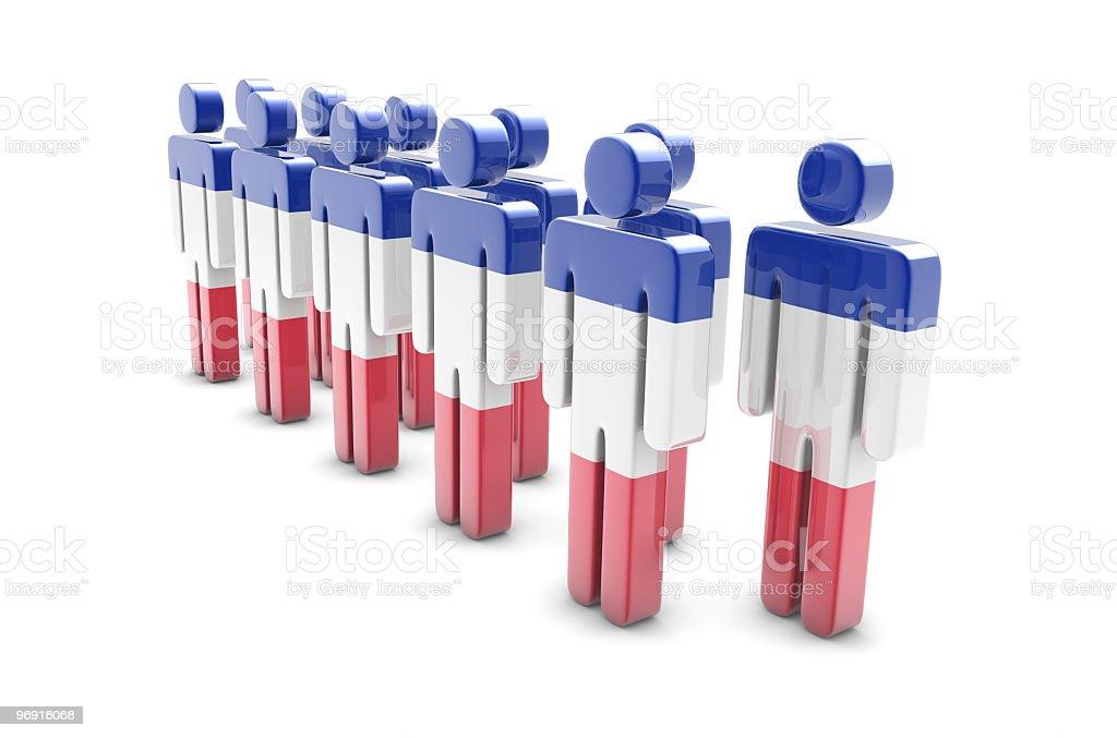 Team France stock photo