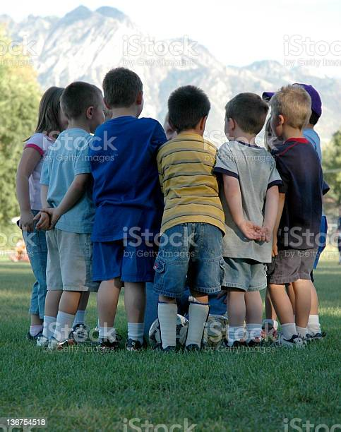 Team Huddle Stock Photo - Download Image Now