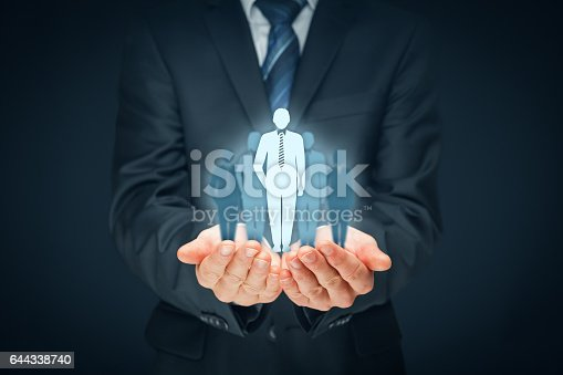istock Team leader, influencer, opinion leader concepts 644338740