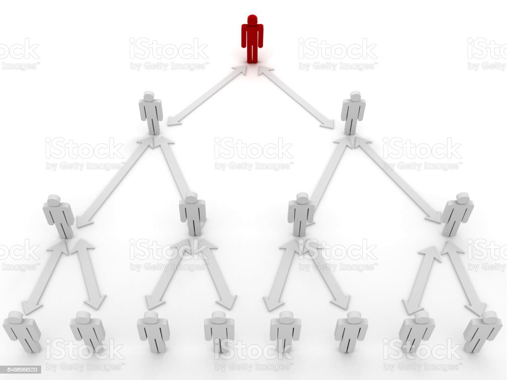 Team leader leadership hierarchy business strategy concept stock photo