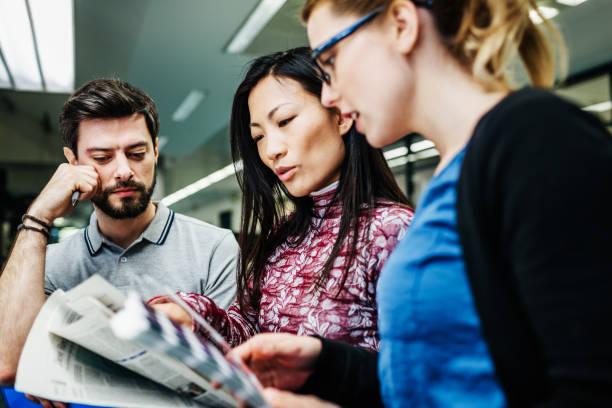 Team Leader Treffen mit Kollegen – Foto