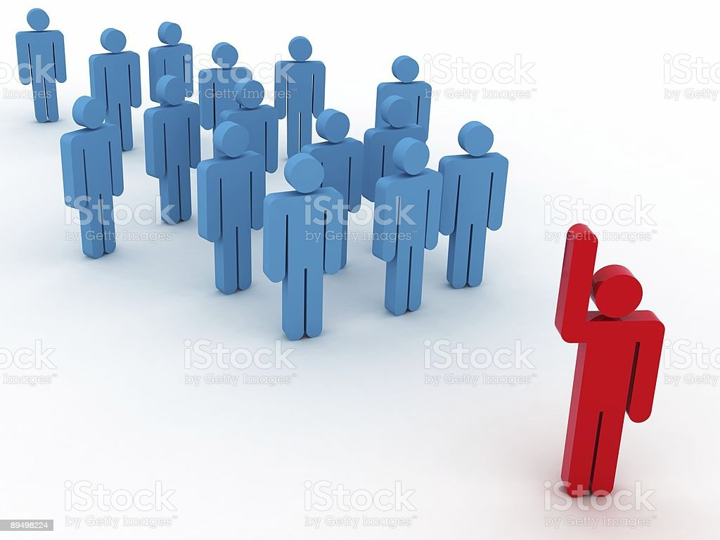 Team Leader foto stock royalty-free