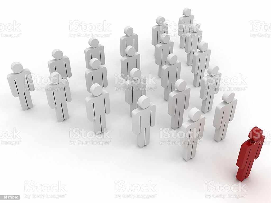 Team Leader royalty-free stock photo
