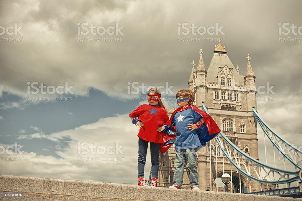 Team in London – Foto