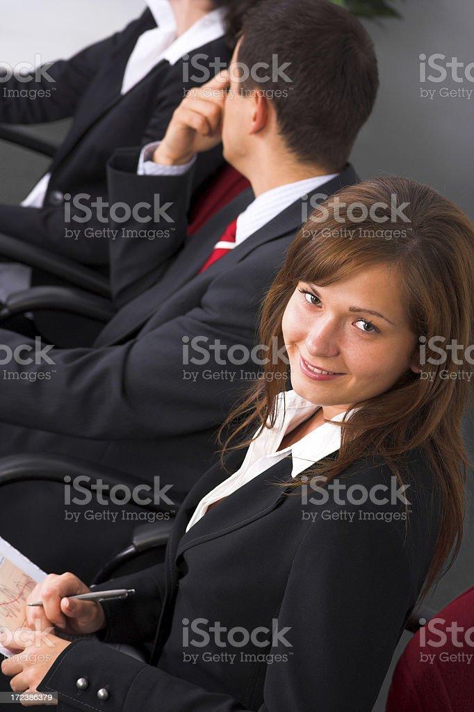 Team meeting stock photo