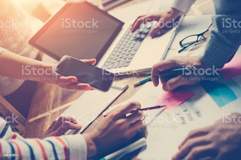 Team meting. Project plan brainstorming – Foto