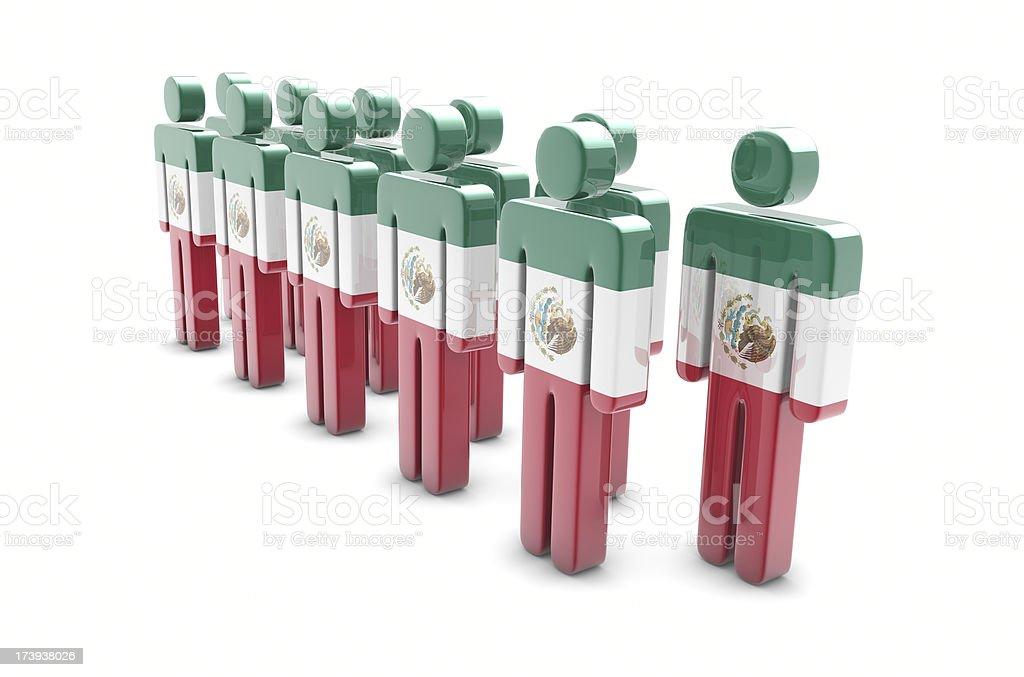 Team Mexico stock photo