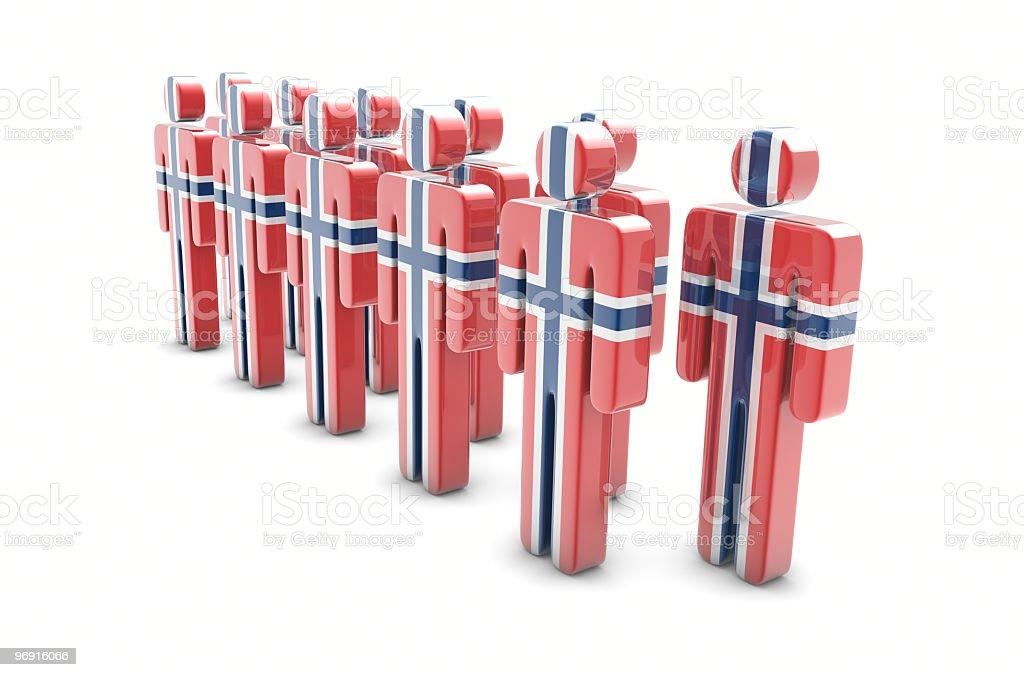 Team Norway stock photo