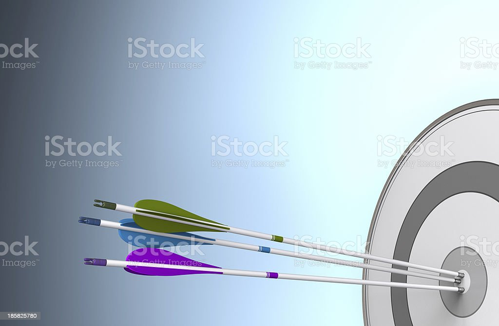 Team Objective Reached royalty-free stock photo