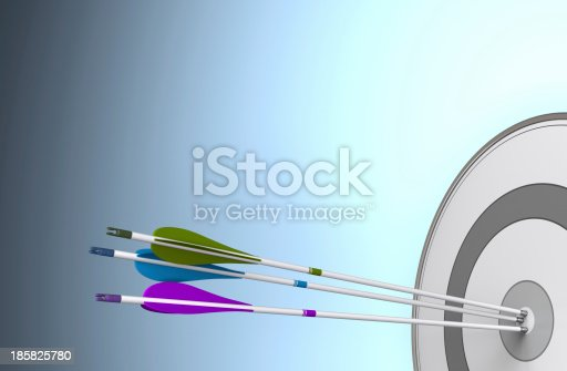istock Team Objective Reached 185825780