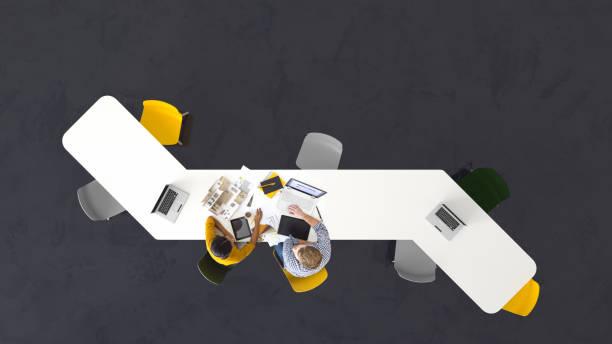Team von Architekten bei der Arbeit – Foto