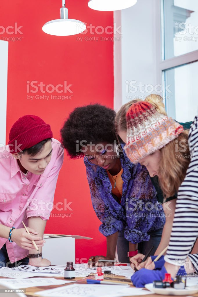 Team Of Creative Fashion Designers Preparing To Fashion Show Stock Photo Download Image Now Istock