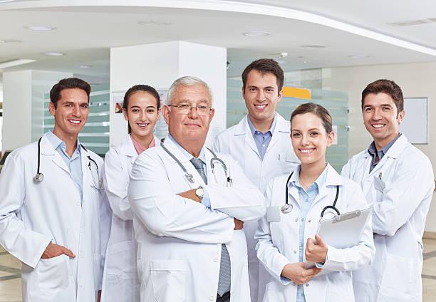 Equipe de médicos - foto de acervo