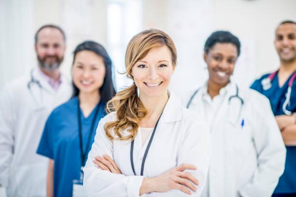 Team Of Doctors stock photo