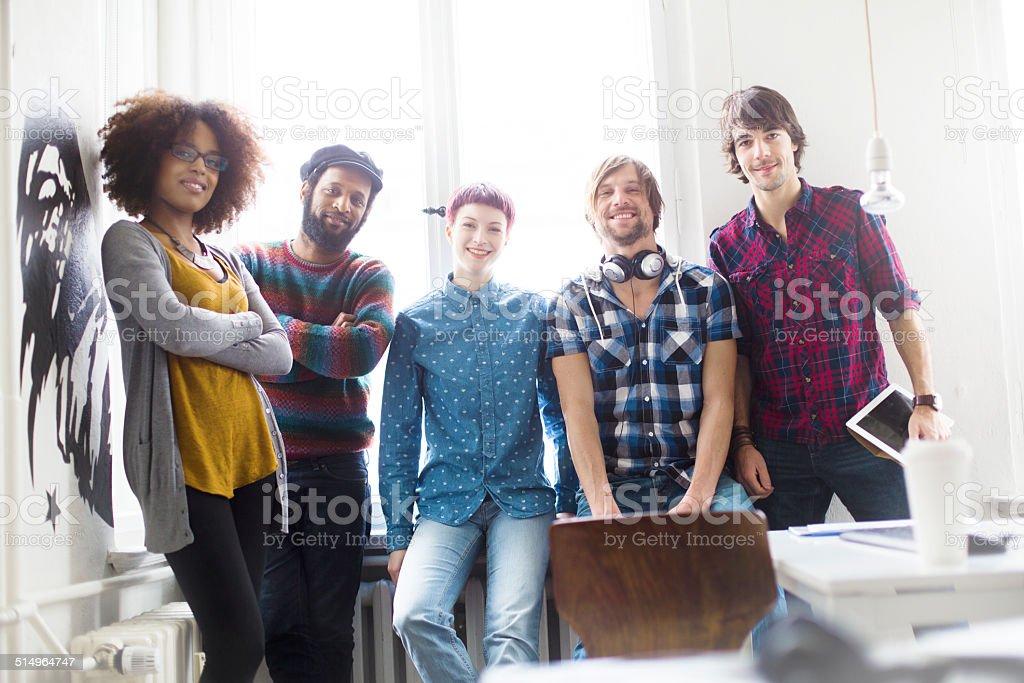 Team of entrepreneurs stock photo