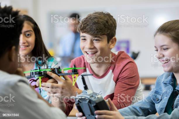 Team of high school students build drone picture id962641544?b=1&k=6&m=962641544&s=612x612&h=adoty3 mxeaiwtpz evwai2kjpphdkg3ind7mout ae=