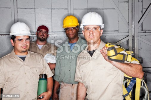 istock Team of manual workers 493503069