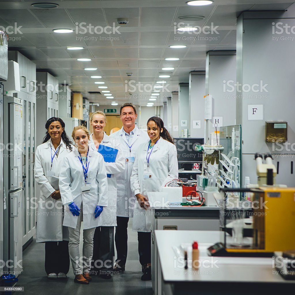 Team of Medical Professionals stock photo