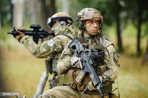 istock team of soldiers are reconnaissance 534601979