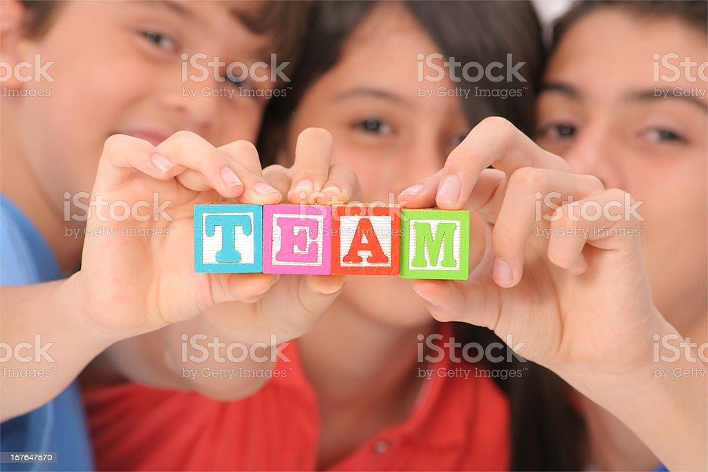 Team royalty-free stock photo